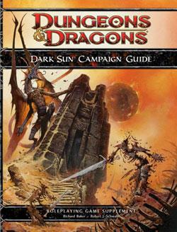Dark Sun Campaign Guide para Cuarta Edición de Dungeons and Dragons