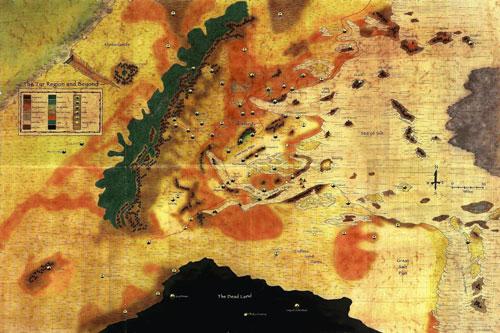 Mapa de Dark Sun