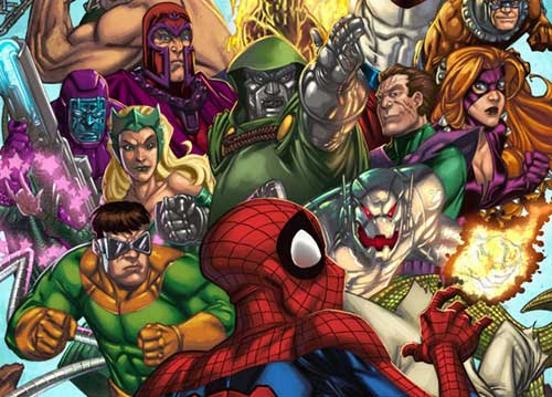 Spiderman And The Secret Wars