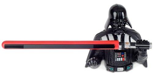 Soporte para el sensor de la Wii con forma de Darth Vader