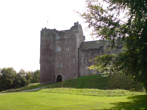 Doune Castle, lugar de rodaje de Holy Grail