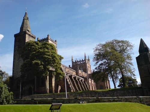 Dunferline Abbey, tumba del Rey Robert the Bruce