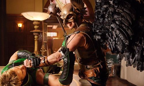 Green Arrow - Hawkman