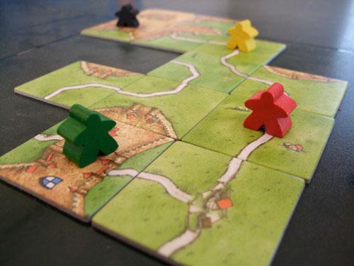 Carcasonne, el juego de tablero sin tablero