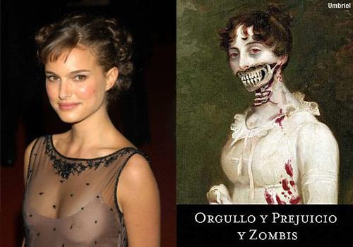 Natalie Portman protagonizará Orgullo y Prejuicio y Zombies