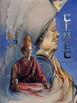 Tibet, el Juego de Rol, portada en catalán
