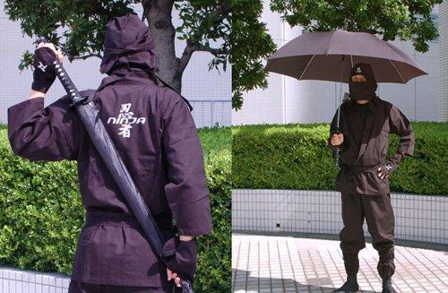 katana paraguas umbrella samurai sword