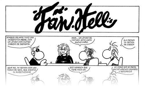 Fan Hell: 1x18 - La sacerdotisa drow