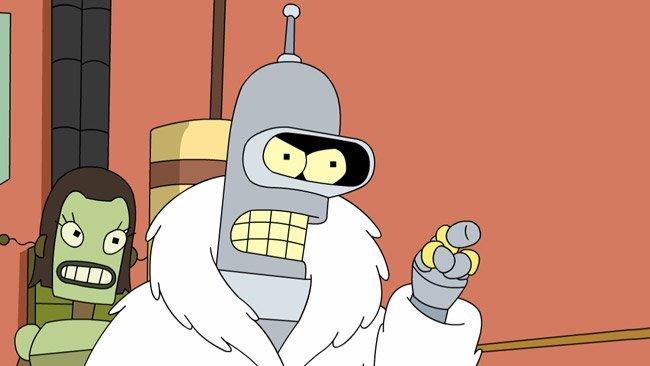 Futurama Bender Matt Groening David X. Cohen Comedy Central