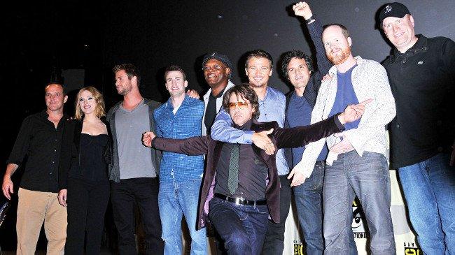 The Avengers Robert Downey Jr. Joss Whedon Samuel L. Jackson