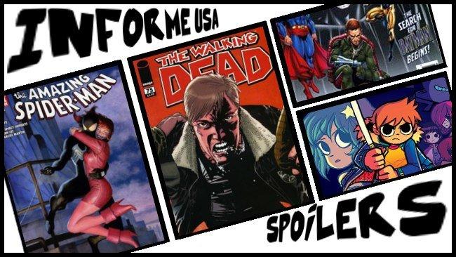 Informe USA 2 - Spiderman, Scott Pilgrim, Los muertos Vivietes Time Masters