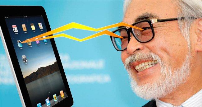 Hayao Miyazaki vs Apple iPad
