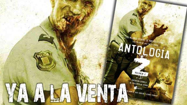 Antología Z volumen 2 Editorial Dolmen