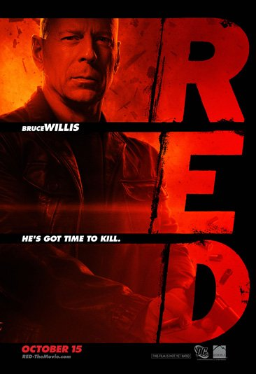 Red Bruce Willis Warren Ellis DC Comics