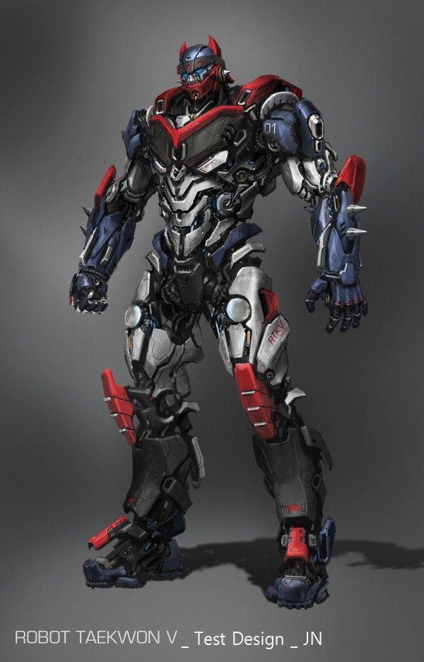 Taekwon V robot