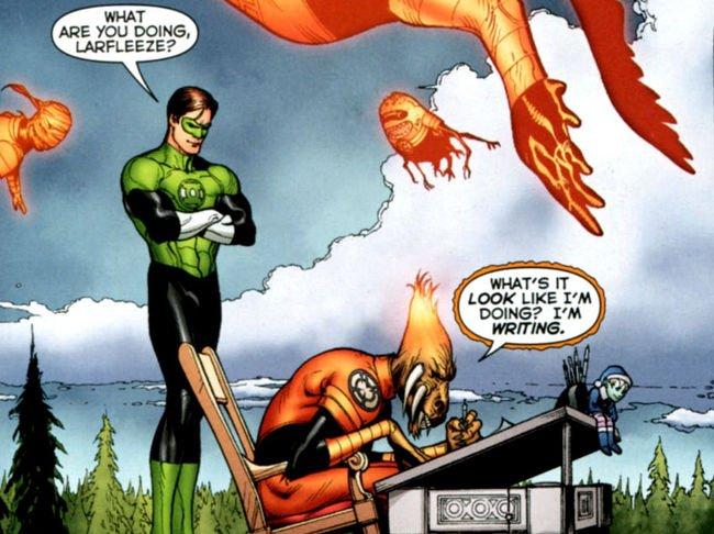 Green Lantern 56 Doug Mahnke y Geoff Johns