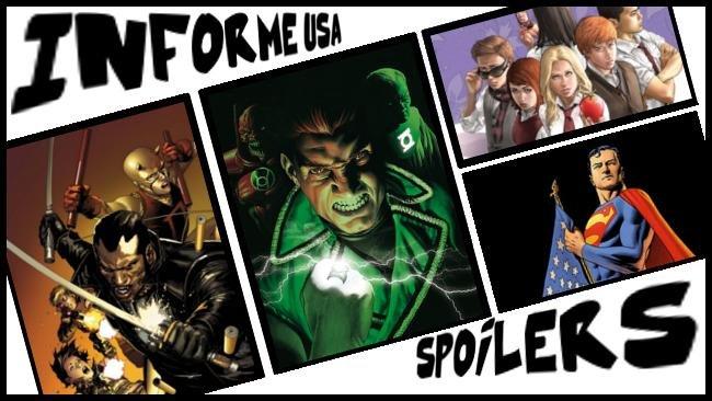 Informe USA Green Lantern Esmerald Warriors, Morning Glories, Ultimate Avengers, Superman, X-Men