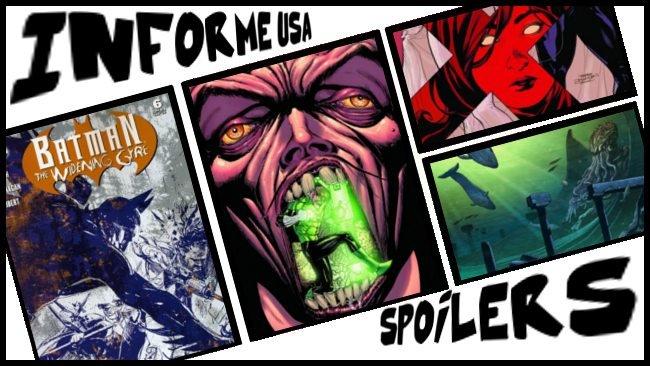 Informe USA 03 Batman The Widening Gyre Green Lantern Uncanny X-Men Neonomicon