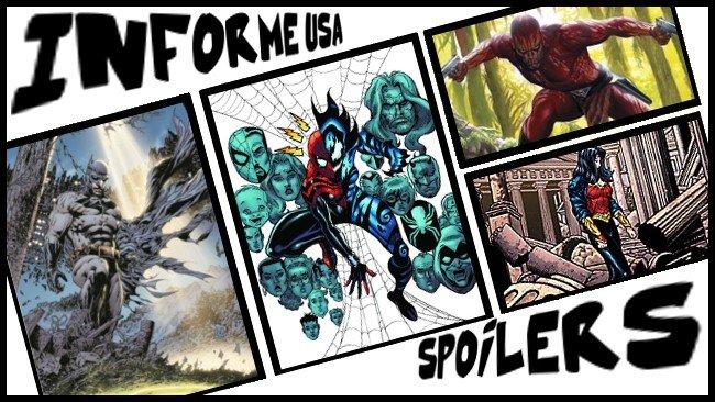Informe USA 7 Batman Last Phantom Spidergirl Wonder Woman Punisher