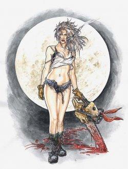 Nancy in Hell ilustracion Juan José RyP