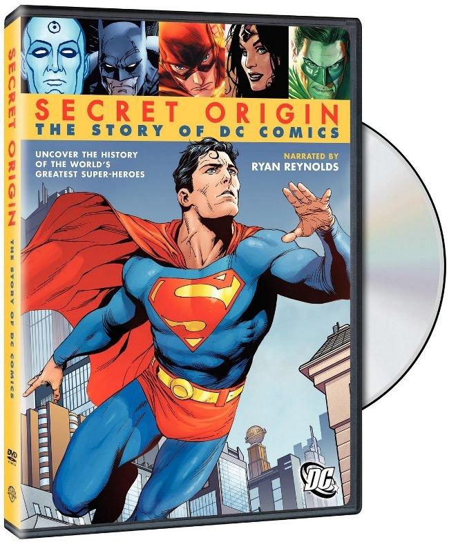 Secret Origin DC Comics DVD Documental
