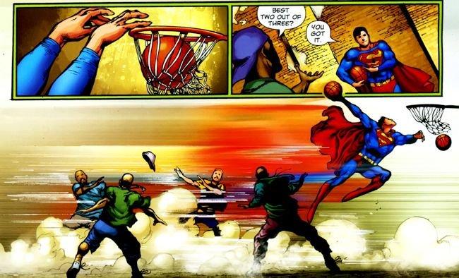 Superman 702 Straczynski Barrows Grounded