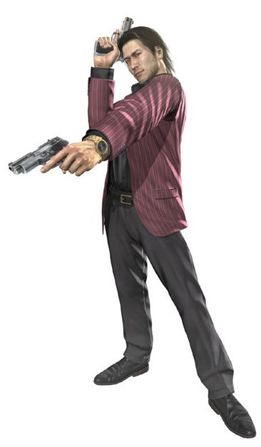 Yakuza PS3 personajes