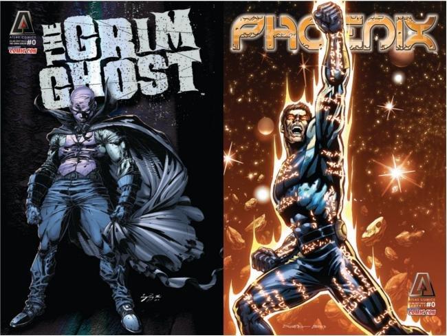 Atlas Comics Goodman The Grim Shot y Phoenix