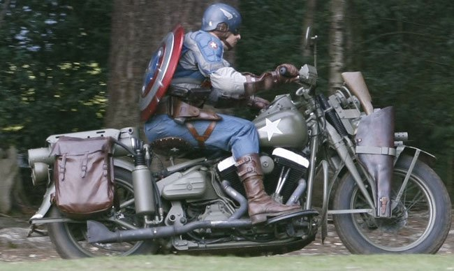 Captain America First Avengers Joe Johnston Chris Evans