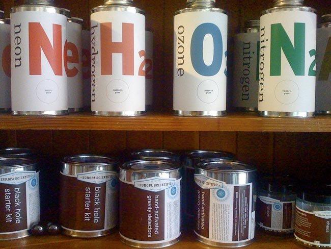 Greenwood Space Travel Supply Company: latas de atmósfera