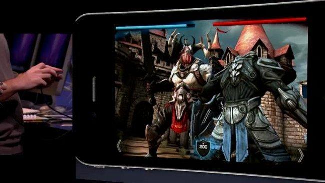 Epic Games Proyect Sword iPhone RPG iOS Unreal Engine Citadel