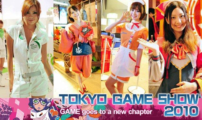 Tokyo Game Show 2010 cosplay girls