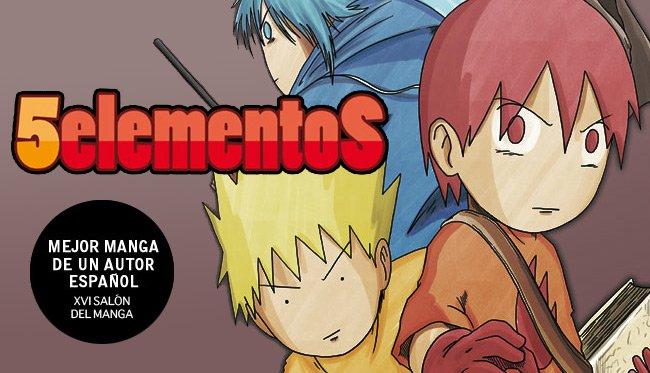 XVI Salón del Manga Cinco Elementos Jesulink
