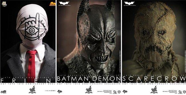 Hot Toys 10th Anniversary Batman Begins 20th Century Boys