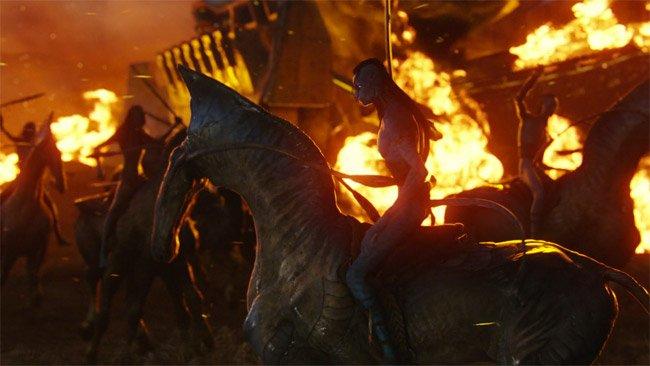 Avatar Extended James Cameron News Scenes Nuevas escenas