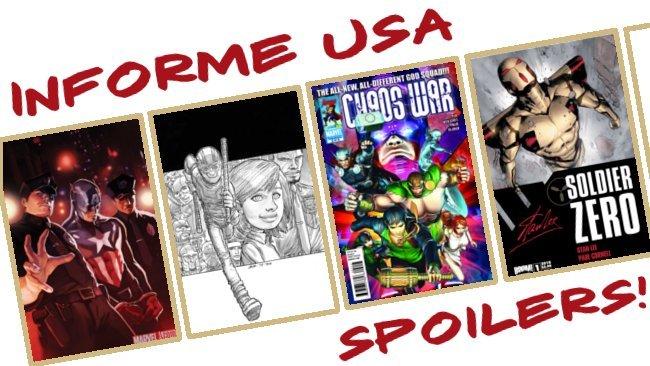 Informe USA Captain America Chaos War Soldier Zero