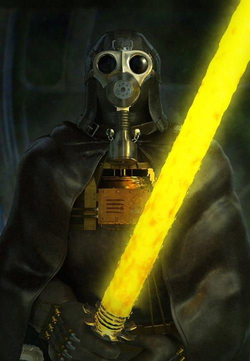 Star Wars Darth Vader redesing rediseño