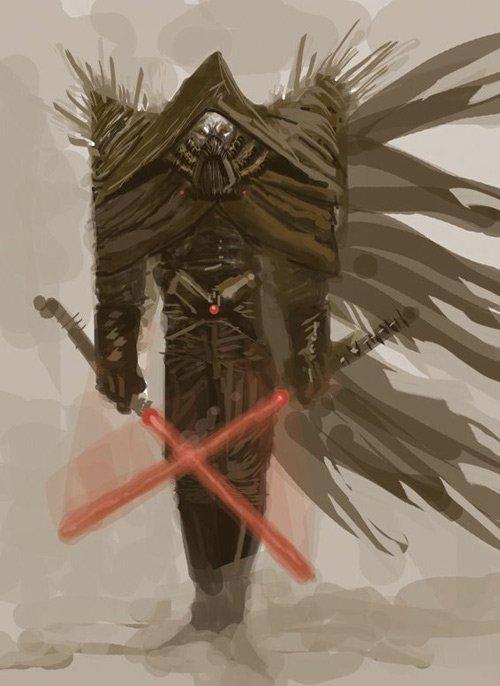 Star Wars Darth Vader redesign rediseño
