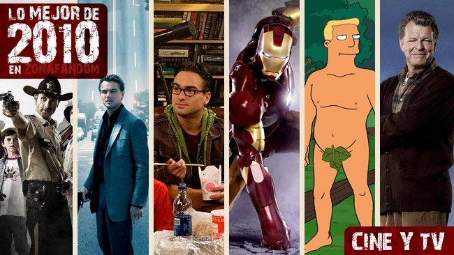 Lo mejor de 2010 cine y tv