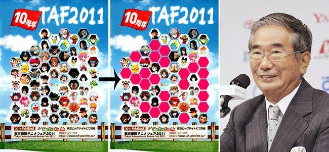 Tokyo Anime Fair 2011 boicot