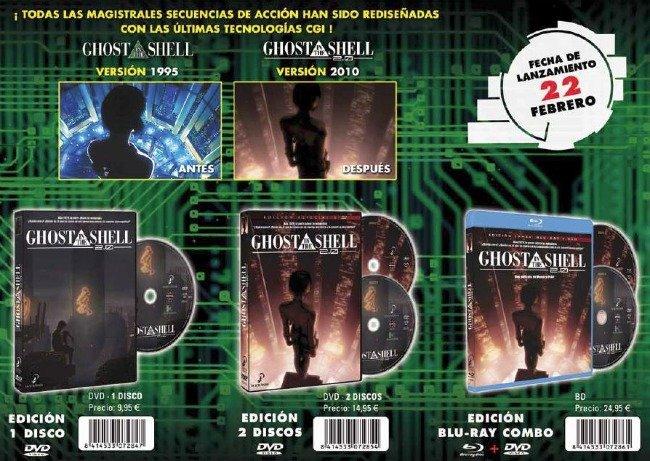 Ghost in the Shell 2.0 Selecta Visión