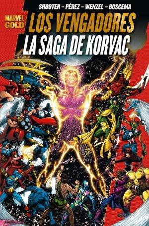 Marvel Gold: Los Vengadores La Saga de Korvac