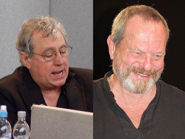 Terry Jones (izquierda) y Terry Gilliam (derecha)