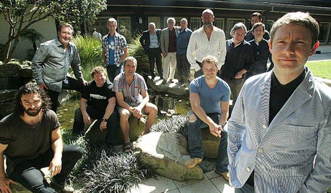 The Hobbit cast reparto
