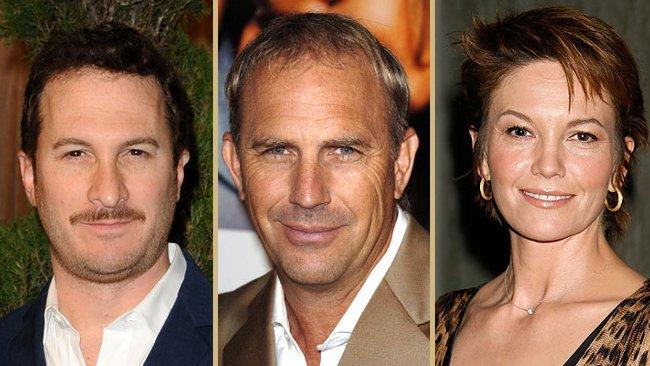 Darren Aronofsky, Kevin Costner y Diane Lane
