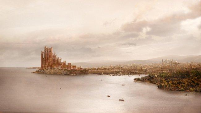 King's Landing (Desembarco del Rey), la capital de los Siete Reinos