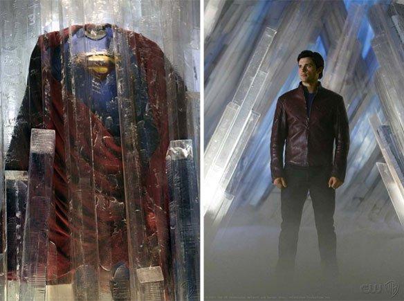 Superman Smallville traje
