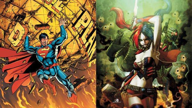 Superman Harley Quinn