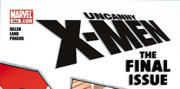 Uncanny X-Men ultimo numero