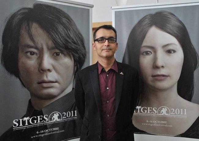 Ángel Sala y los carteles de los geminoides. Sitges 2011